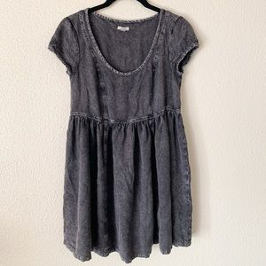 Dark grey dress from Urban Outfitters